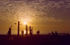 Moonlight Beach volleyball