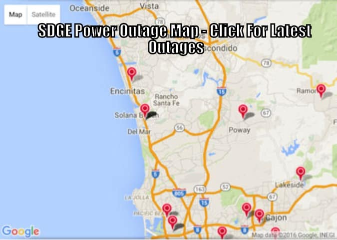 SDGE Electrical, Gas Power Outage Map & Android / IOS Apple App