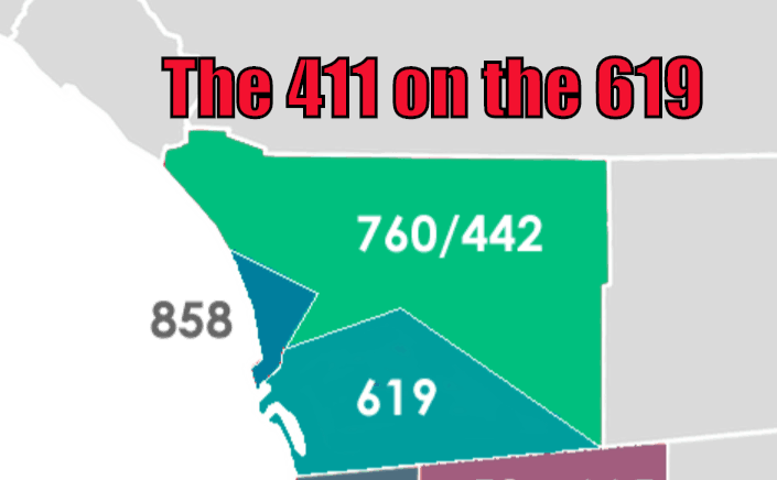 The 411 On The 619 (Area Code Change Coming… Again?)