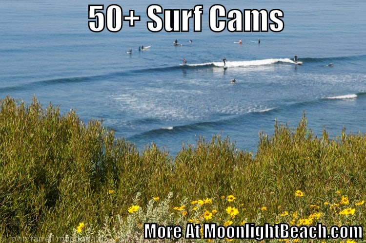 50+ San Diego County Surf Cam Links